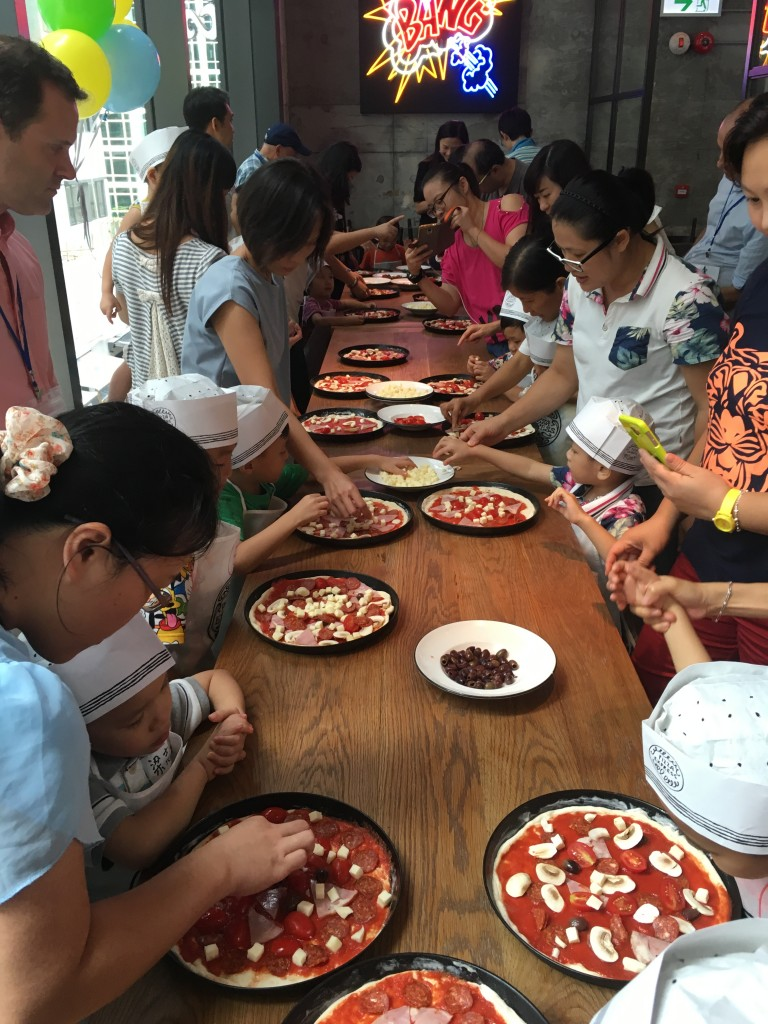 autism partnership foundation Pizza Making Party1